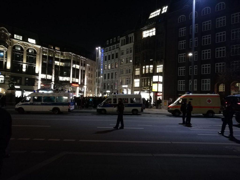 """""""Merkel muss weg""""-Nazi-Demo in Hamburg 19.02. 2018"""