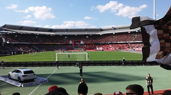MagischerFC 1. FC Nuernberg FC St. Pauli Stadion Mai 2016