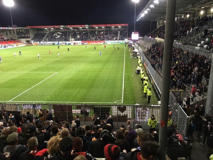 MagischerFC SV Sandhausen vs. St. Pauli Oktober 2017