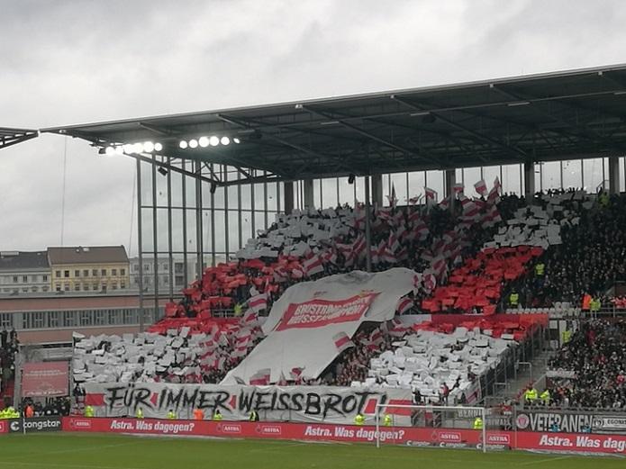 MagischerFC St. Pauli vs. VfB Stuttgart Februar 2020