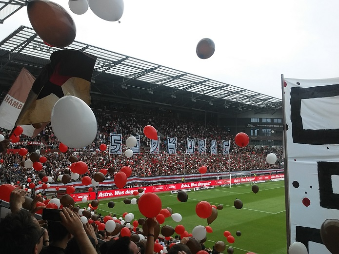 MagischerFC St. Pauli 1. FC Heidenheim August 2017