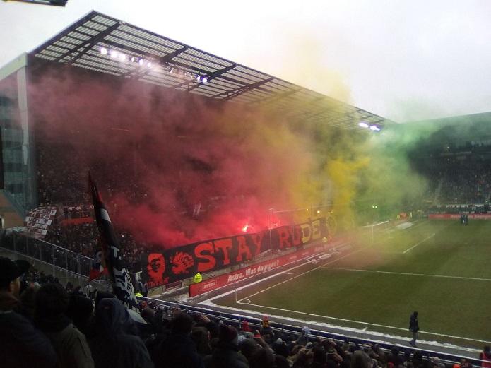 MagischerFC St. Pauli vs. Holstein Kiel Februar 2018