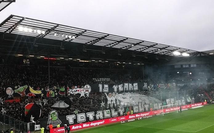 MagischerFC St. Pauli vs. MSV Duisburg Dezember 2017