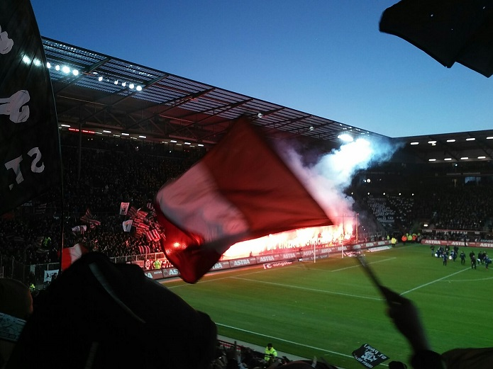 MagischerFC St. Pauli vs. Union Berlin Maerz 2017