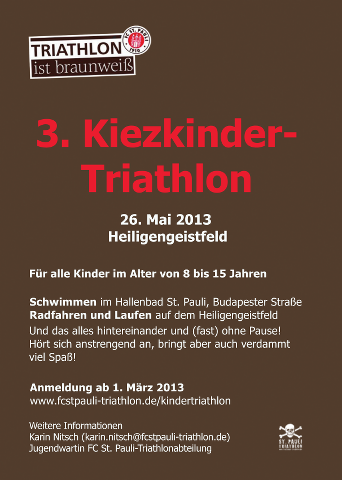 Kinder-Triathlon Flyer
